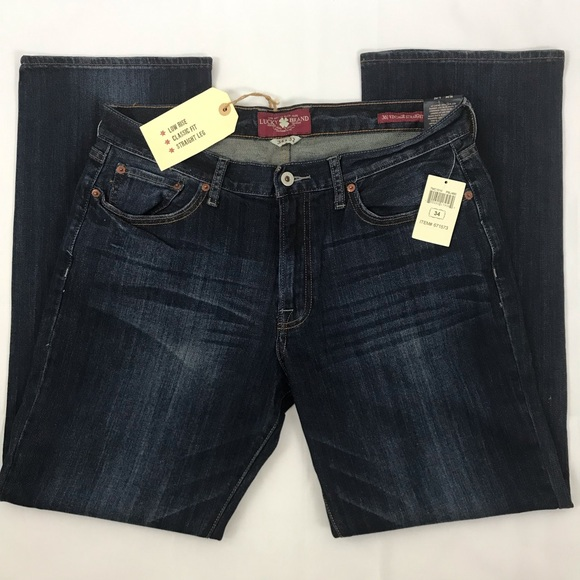 Lucky Brand Other - Lucky Brand 361 Vintage Jeans Low Rise Straight 34